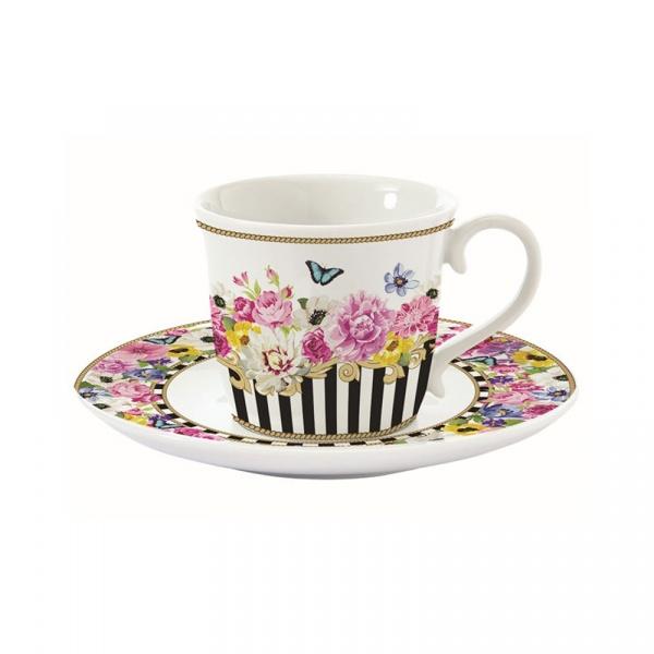 Filiżanka do espresso 0,08L Nuova R2S Flowers Glamour 1203 GLUR