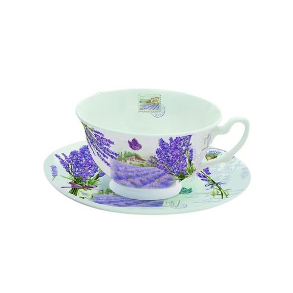 Filiżanka do herbaty 150 ml w prezentowym pudełku Nuova R2S Romantic 322 BDL