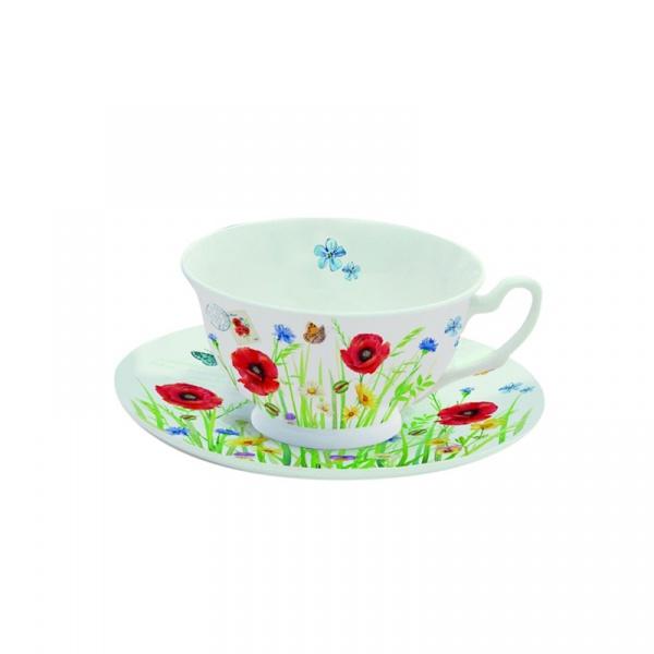 Filiżanka do herbaty 150 ml w prezentowym pudełku Nuova R2S Romantic 322 CAMP