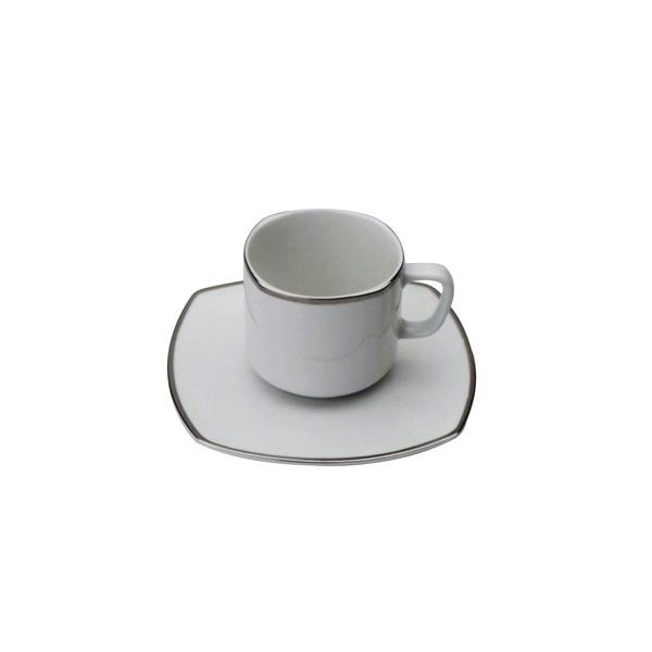 Filiżanka do herbaty Casa Bugatti Serena Platino 95-SPL460