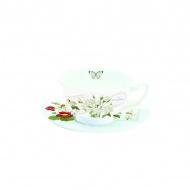 Filiżanka do herbaty Nuova R2S Romantic kwiaty