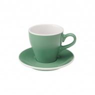 Filiżanka i spodek Cafe Latte 280 ml Loveramics Tulip miętowa