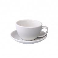 Filiżanka i spodek Cafe Latte 300 ml Loveramics Egg biała