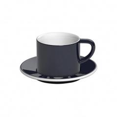 Filiżanka i spodek Cappuccino 150 ml Loveramics Bond granatowa