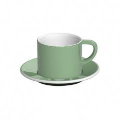 Filiżanka i spodek Cappuccino 150 ml Loveramics Bond miętowa