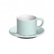 Filiżanka i spodek Cappuccino 150 ml Loveramics Bond bladoniebieska