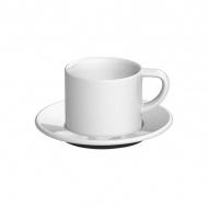 Filiżanka i spodek Cappuccino 150 ml Loveramics Bond biała