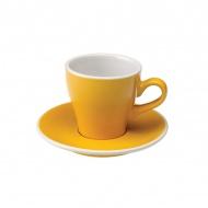 Filiżanka i spodek Cappuccino 180 ml Loveramics Tulip żółta