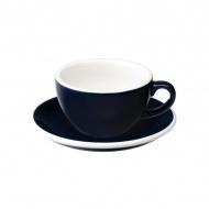 Filiżanka i spodek Cappuccino 200 ml Loveramics Egg granatowa