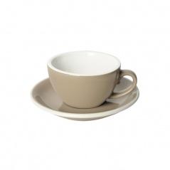 Filiżanka i spodek Cappuccino 200 ml Loveramics Egg taupe