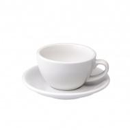 Filiżanka i spodek Cappuccino 200 ml Loveramics Egg biała