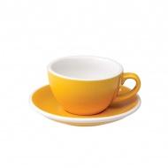 Filiżanka i spodek Cappuccino 200 ml Loveramics Egg żółta