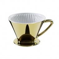 filtr do kawy złoty, rozmiar 4, śred. 14x10,5 cm