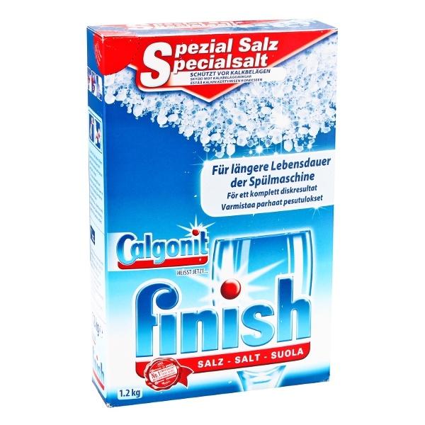 FINISH CALGONIT 1,2kg Niemiecka Sól do zmywarek 4002448046424
