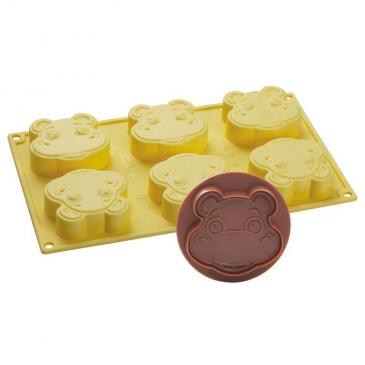 Foremka do lodów i ciasta + wykrawaczka Pavoni Hipopotam