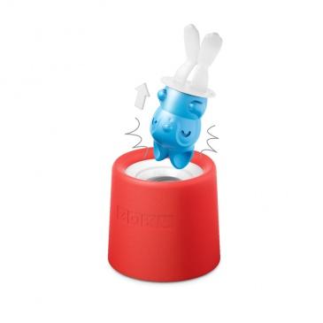 Foremka do lodów na patyku KRÓLICZEK LUCKY Zoku Character Pops niebiesko-biała