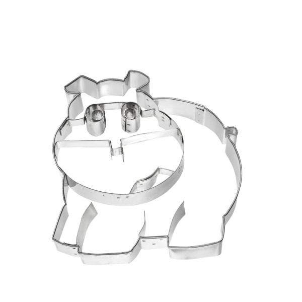 Foremka do wykrawania ciastek Birkmann Hipopotam 197 077