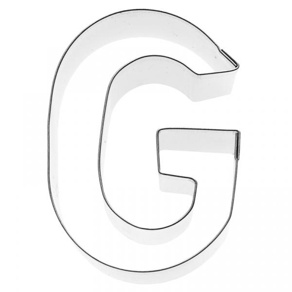 Foremka do wykrawania ciastek Litera G Birkmann Alfabet 196 353