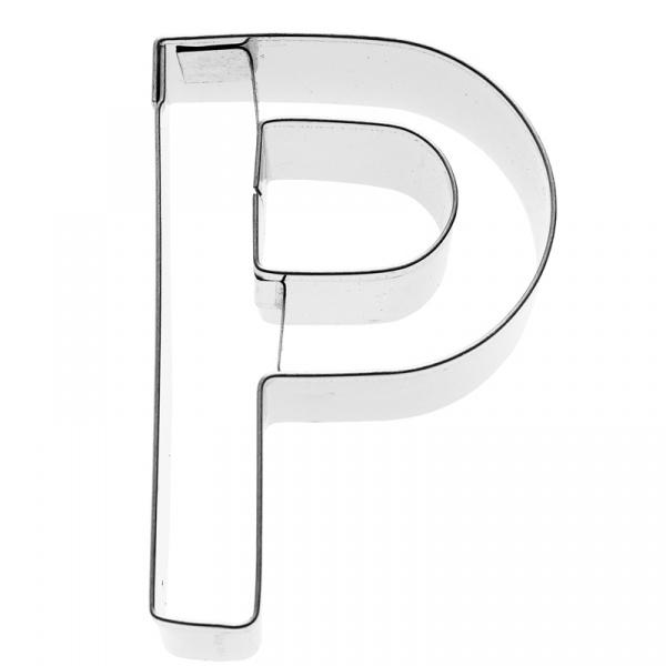 Foremka do wykrawania ciastek Litera P Birkmann Alfabet 196 445