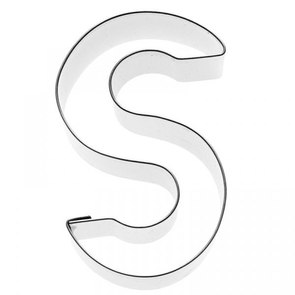 Foremka do wykrawania ciastek Litera S Birkmann Alfabet 196 476