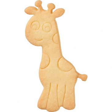 Foremka do wykrawania ciastek Żyrafa Birkmann srebrna