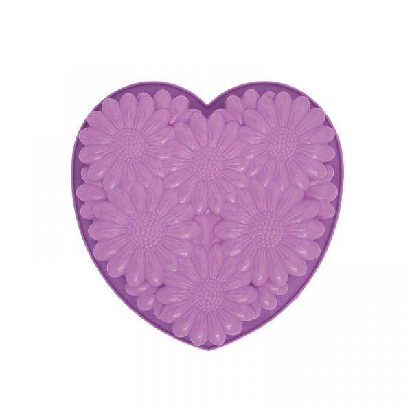 Forma do ciasta Bouquet Hearth Pavoni fioletowa FRT163LI3