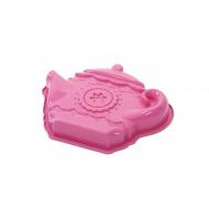Forma do ciasta Pavoni czajniczek różowa