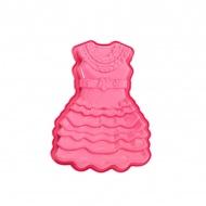 Forma do ciasta Pavoni sukienka różowa