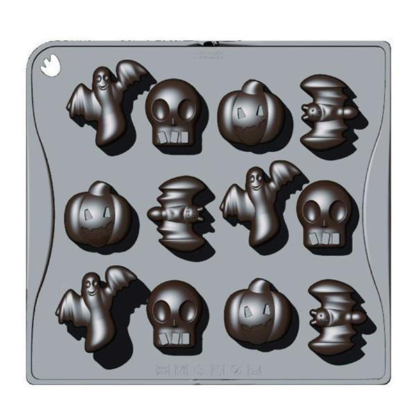 Forma do czekoladek lub kostek lodu 12 sztuk halloween Pavoni CHOCOHALLOWEENMRS