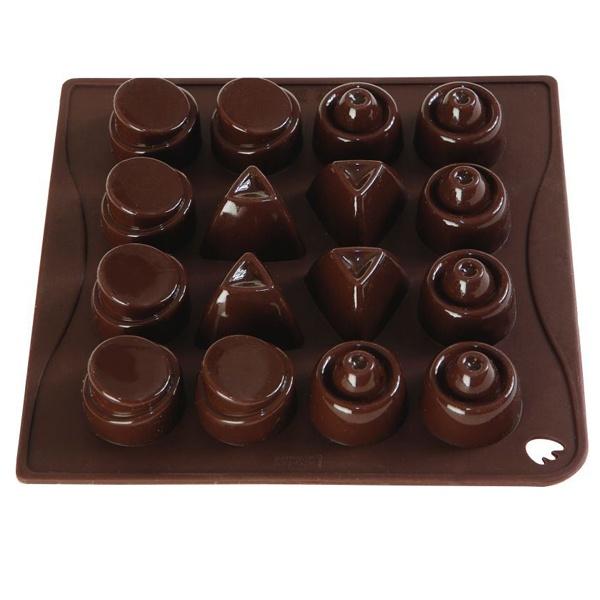 Forma do czekoladek lub kostek lodu 16 sztuk Pavoni CHOCOICEMRS