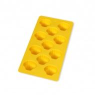 Forma do lodu MUSZELKI Lekue żółta