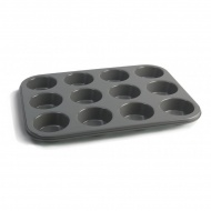 Forma do muffinek 12 sztuk Jamie Oliver szara