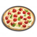 Forma do pieczenia pizzy 30cm Kuchenprofi szara