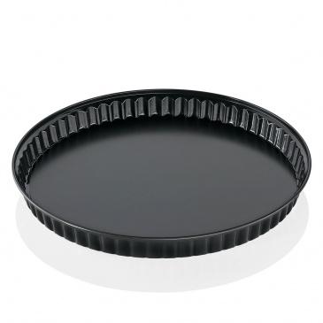 forma do pieczenia, z ruchomym dnem, śred. 28 cm, czarna