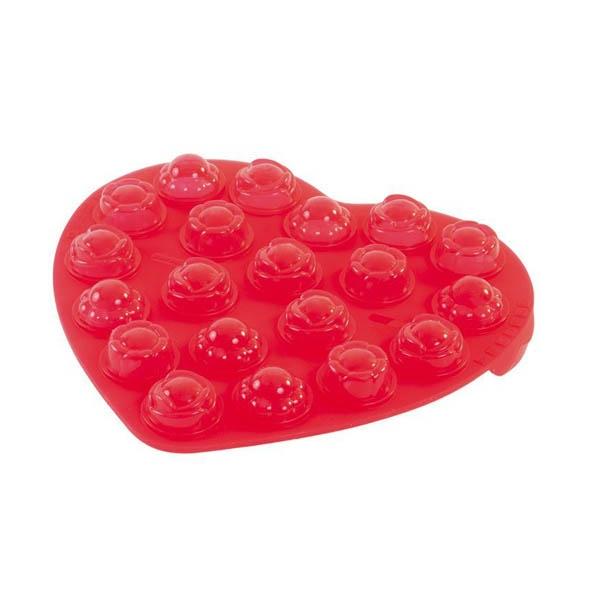 Forma do przygotowywania lizaczków Pavoni czerwona SW01TR2S