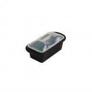 Forma do terriny z pokrywką 22,2x10,7x9 cm Mastrad czarna