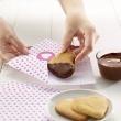 Forma do wykrawania ciastek Puzzle Hearts Lekue czerwona 0200160R01M017