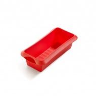 Forma prostokątna (keksówka) 24 cm Lekue Classic czerwona