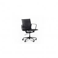 Fotel Alaska black : Kolor - czarne siedzisko / czarne nogi
