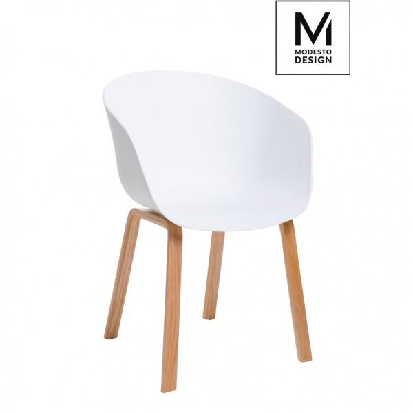 Fotel Angel Modesto Design 77cm biały C1062.WHITE