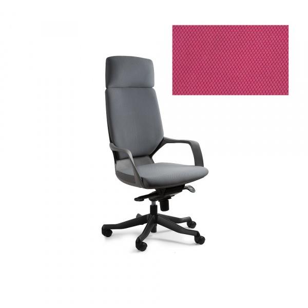 Fotel biurowy Apollo Unique magenta W-909B-BL401