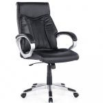Fotel biurowy czarny regulowana wysokość Nazoriene