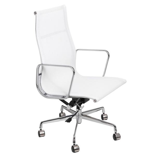 Fotel biurowy D2 CH1191T biała siatka 5902385702300