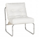 Fotel Boudoir Kokoon Design biały
