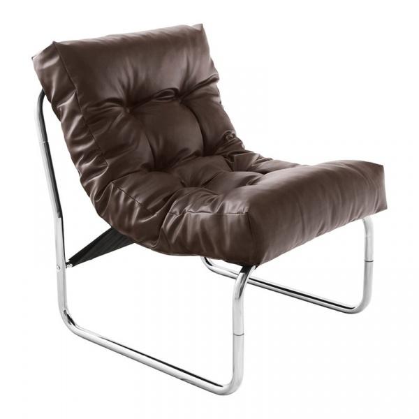 Fotel Boudoir Kokoon Design brązowy AC00680BR