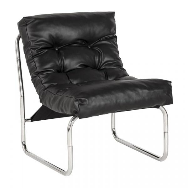 Fotel Boudoir Kokoon Design czarny AC00260BL