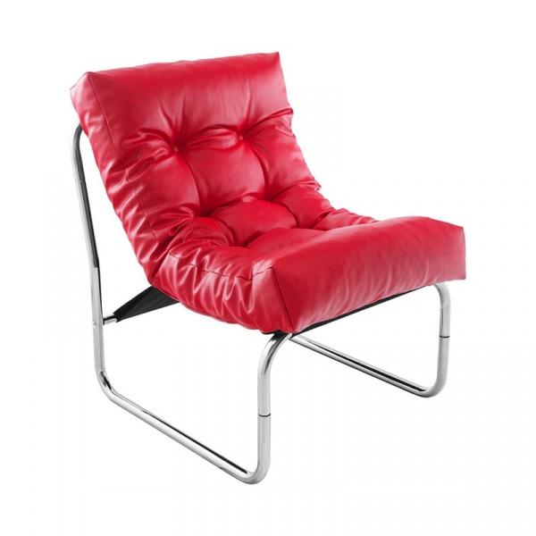 Fotel Boudoir Kokoon Design czerwony AC00690RE