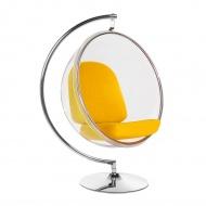 Fotel Bubble Stand King Home żółty