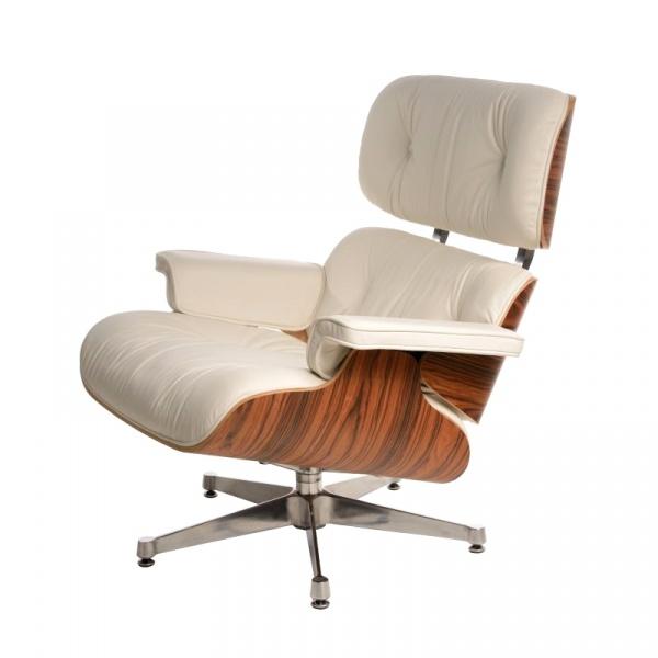 Fotel D2 Vip inspirowan Lounge Chair biały  5902385708654