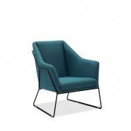 Fotel Dakota : Kolor - niebieski